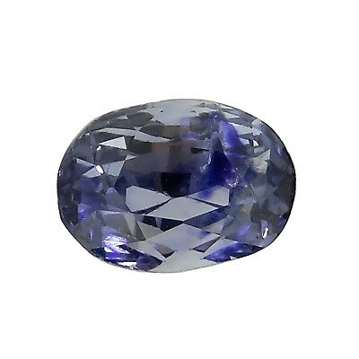 antique oval unheated natural blue sapphire 1.56ct Genuine Loose Gemstones