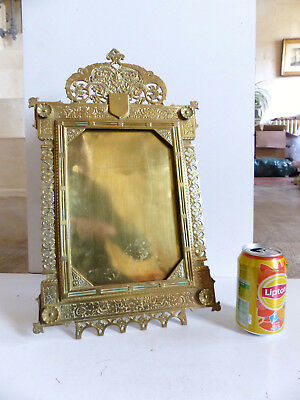 VERY LARGE & SUPERB ANTIQUE BRONZE PICTURE FRAME c.1890's