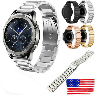 Stainless Steel Metal Watch Band Strap For Samsung Gear S3 Frontier S3 Classic x