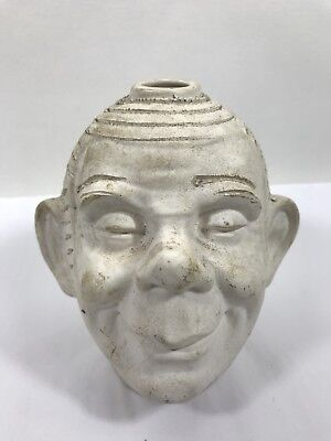 Antique Morton Pottery EARLY Paddy O'Hair Pre-Chia Folk Art Planter Head Clay