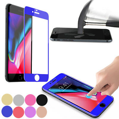 Full Coverage Tempered Glass Screen Protector Film for Iphone 6 7 8 plus