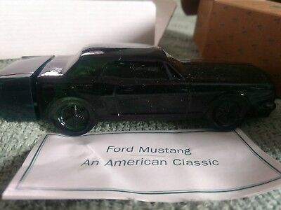 Vintage Avon Gift Collection Ford Mustang Wild Country Cologne 1994 New in Box