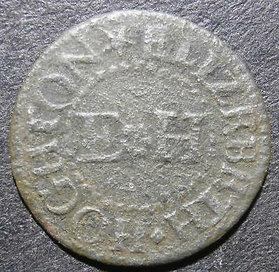 17th century farthing token - Cambridgeshire Cambridge Elizebeth Hoghton - D.54