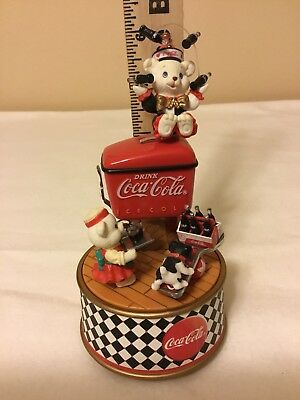 Things Go Better with Coke 1995 Enesco Coca Cola Music Box