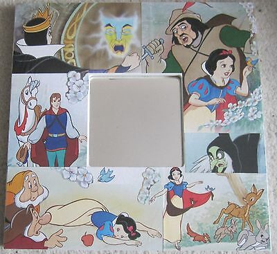 Disney's Snow White using original pictures from book - Decoupage Mirror