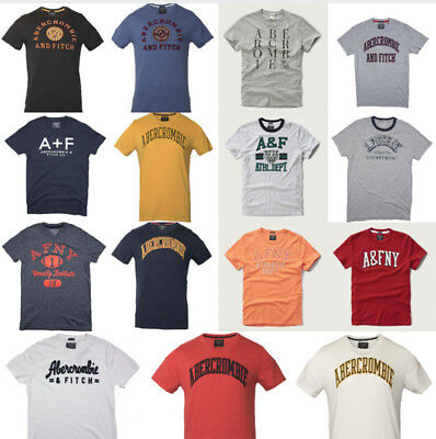 Nwt Abercrombie & Fitch By Hollister Muscle Men's Tee T Shirt Size S M L XL