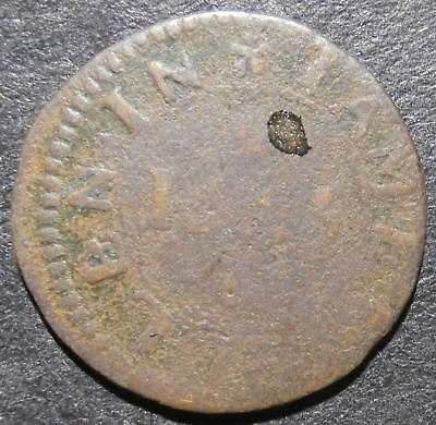 17th century farthing token - London St. Katharine's 1665 James Allen - D.2590