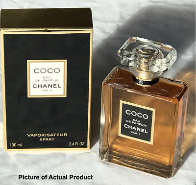 Coco Chanel Eau De Parfum 100ml Vaporisateur Spray Unused And