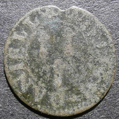 17th century farthing token - Somerset Yeovil 1653 William Daniell - D.334