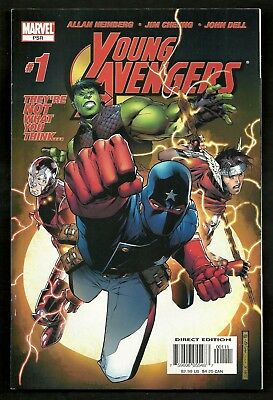 Young Avengers 1 12 & Dark Reign: Young Avengers 1 (Lot of 4) 1st Kate Bishop