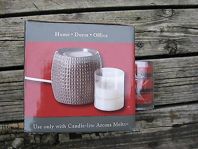Candle Lite AROMA MELTS FRAGRANCE WARMER ELECTRIC Aroma Pot with desert sunset