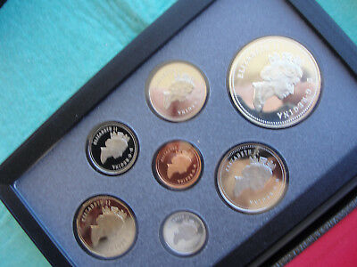 1991 Canada Proof Double Dollar Set - Canadian 7-Coin Set - With Box/coa