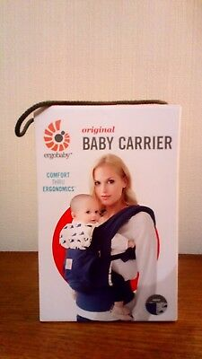 ergobaby Original baby carrier, 4 positions Marine excellent condition in box