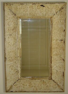 Mirror Extra Large made from Antique Tin Ceiling  Tiles