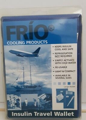 Frio Cooling Products Insulin Travel Wallet - Blue, Large