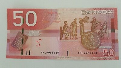BANK OF CANADA 2004$50, CANADIAN BANK NOTE  SELLING FOR $450 BC-65ba ALSO 3DIGIT