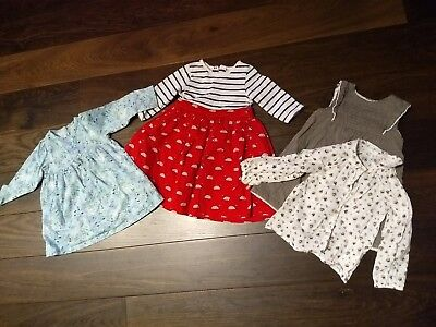Girls 9-12 & 12-18 months dress bundle