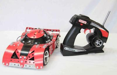 Meccano Remote Control Racing Car - Red and Black #14033