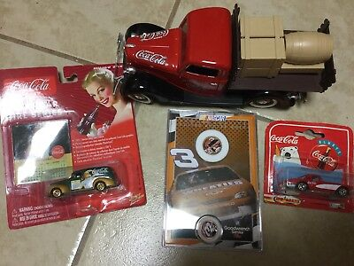 Coke Cola cars and number 3 Collection