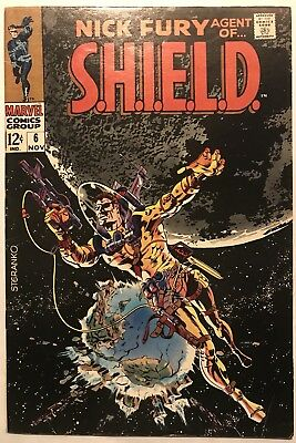 Nick Fury, Agent of SHIELD #6 (Nov 1968, Marvel) FN+