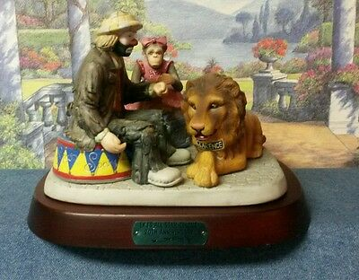 Emmett Kelly Jr. All Star Circus 20th Anniversary Figurine with Base