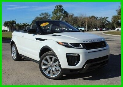 2017 Land Rover Range Rover HSE Dynamic Convertible 2017 Land Rover Range Range Rover Evoque HSE Dynamic Convertible 2.0L I4 16V 4WD
