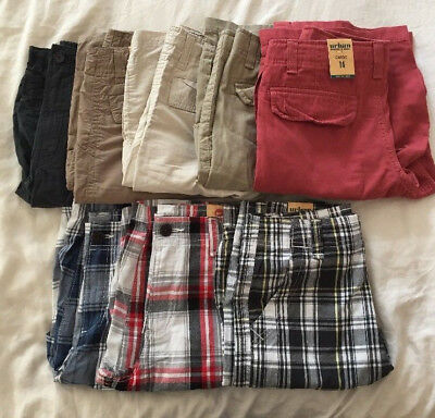 New Urban Pipeline Cargo Shorts For Boys, Size 14- Choose Your Own Color & Style