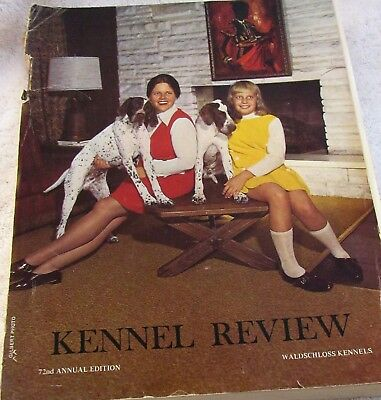 Vintage 1970 KENNEL REVIEW 72nd Edition 620 pages Dog Shows Breeds Care & More