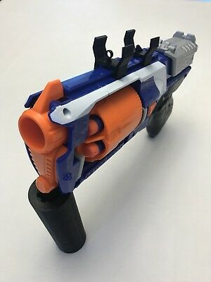 FNS 3D Printed Rear Iron Sight Style for Nerf Gun Rails