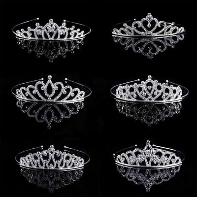 Wedding Jewelry Crystal Rhinestone Crown Headbands Tiaras Crowns Headbands