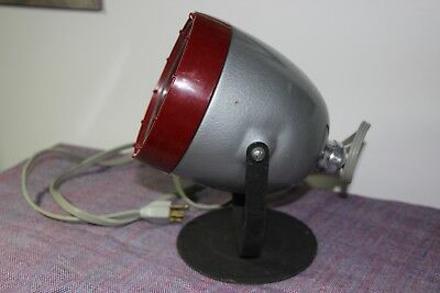 Vintage Kodak Darkroom Dark Room Lamp Safe Light Adjustable Model A Filter OC