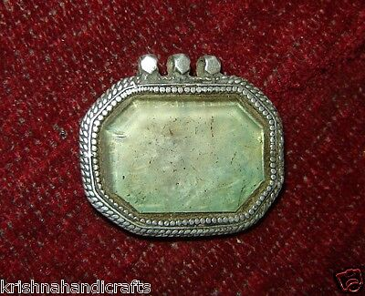 Vintage Very Rare Islamic Silver Pendle With Islamic Writing