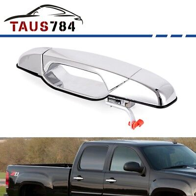Chrome Outside Door Handle for 07-13 Chevy GMC Cadillac Front Right Passenger