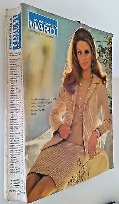 Vintage Montgomery Ward 1969 Spring and Summer Catalog