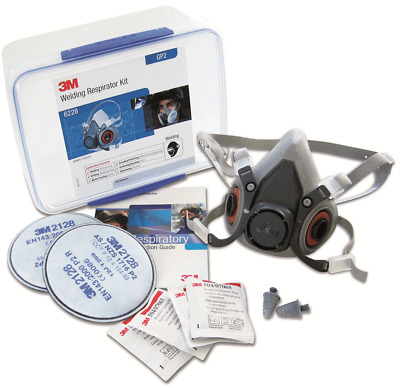 3M WELDING RESPIRATOR STARTER KIT 6228 Sealable Storage Container, Medium