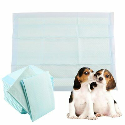 50 Pcs Puppy House Super Absorbent Trainer Training Pads Toilet Wee 60x45 CM XC