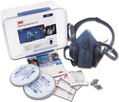 3M WELDING RESPIRATOR STARTER KIT 7528 Sealable Storage Container, Medium