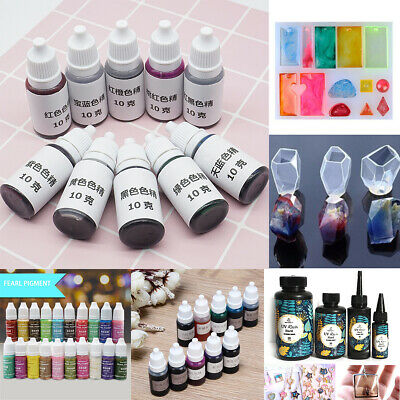 Various Epoxy Color UV Resin Coloring Dye Colorant Resin Pigment Art Crafts Mix