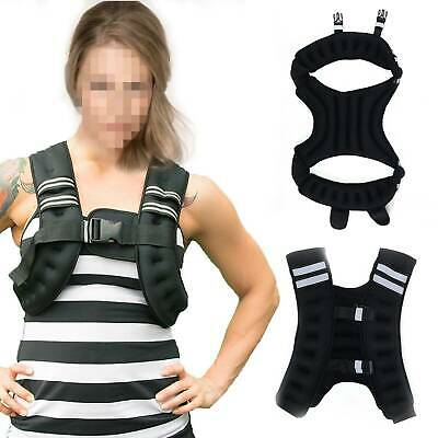 Weighted Vest Home Gym Running Fitness Weight loss Strength Jacket 5/8/10kg