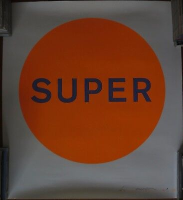 Pet Shop Boys - Super (Ltd Edition Lithograph Signed By Chris And Neil 8/150)