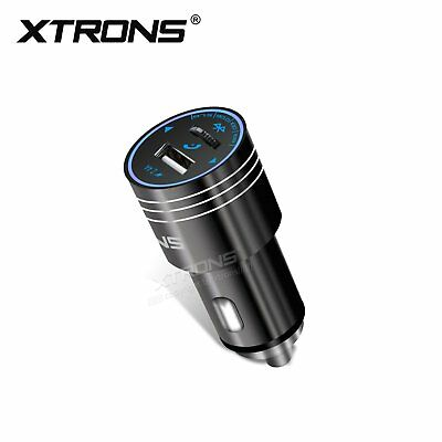 Wireless Bluetooth Car Kit FM Transmitter MP3 Player USB Charger for iPhone X 8