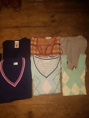 Vintage Pre-Owned Tank Tops Sleeveless Jumpers Job Lot