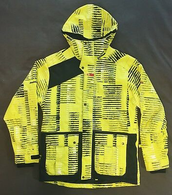ROME SDS SNOWBOARD JACKET - MEN'S XL - Yellow/Black - Waterproof - Breathable