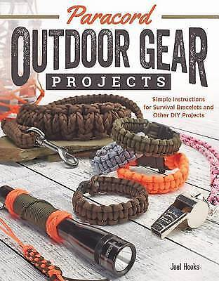 Paracord Outdoor Gear Projects by Joel Hooks BRAND NEW BOOK (Paperback, 2014)