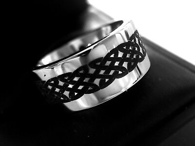 Celtic Ring, Tungsten Wedding Bands, Tungsten Ring, His and Her Promise Ring