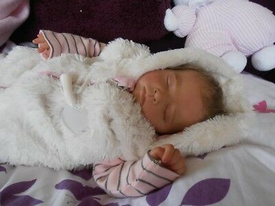 Reborn baby girl doll - LIMITED EDITION KIT - Yona by Christa Gotzen
