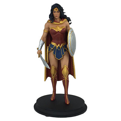 """DC Rebirth WONDER WOMAN STATUE 7"""" Official Resin DC Collectible NEW SDCC 2018"""
