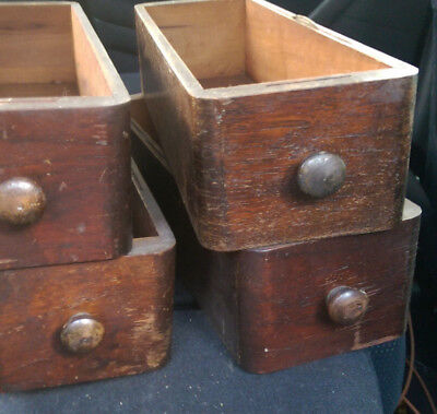 Antique 1910 Singer Treadle Sewing Machine Wood Drawer Drawers for Treadle