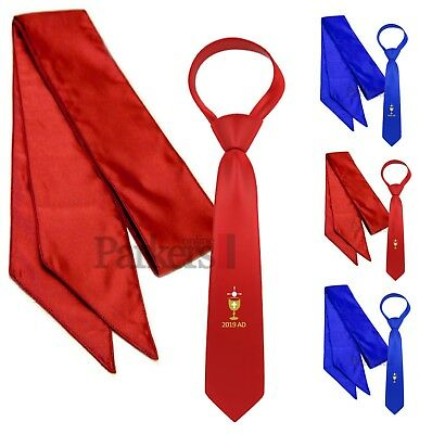 Official Parkers New First Holy Communion Tie And Sash Set Blue Red Dated 2019