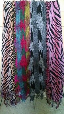 NEW Women's bulk assortment of fashion SCARVES Scarfs